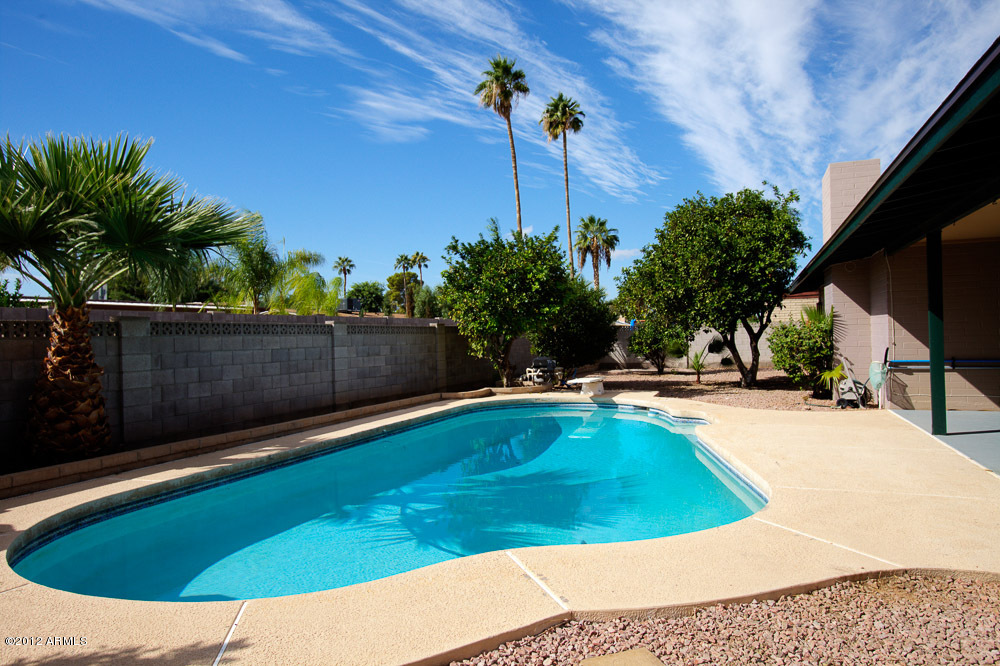 Pool home in north mesa az 85213 with no hoa for Pool fill in mesa az